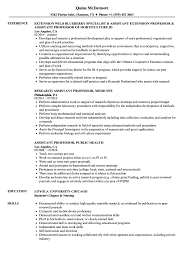 Related Job Titles Assistant Professor Resume Sample