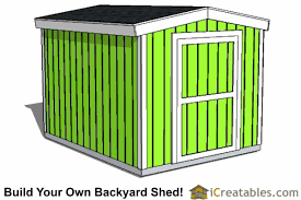 8x10 Shed Plans Materials List by 8x10 Shed Plans Diy Storage Shed Plans Building A Shed