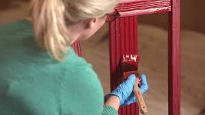 How To Paint Wood Furniture Video