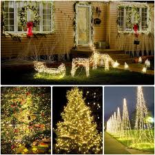 Best Type Of Christmas Tree Lights by Amazon Com Cymas Solar String Lights 33ft 100 Led Outdoor