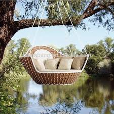 Outdoor Swing Bed Round