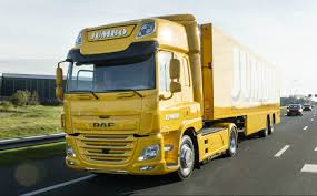 100 Daf Truck DAF S First Electric Lorry Delivered To Supermarket Chain
