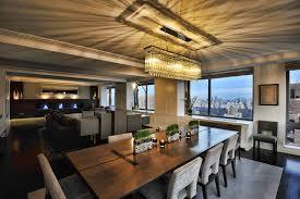 Chandelier Modern Dining Room by 24 Rectangular Chandelier Designs Decorating Ideas Design