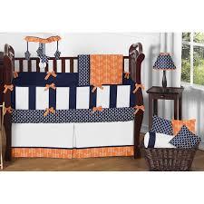 Navy And Coral Crib Bedding by Bed U0026 Bedding Sweet Jojo Designs Alexa 9 Piece Crib Bedding Set