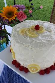 Rustic Lemon Raspberry Buttercream Layer Cake