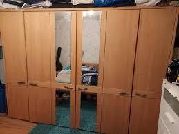 schlafzimmer komplett teilweise massivholz gebraucht in