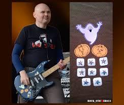 Machina Smashing Pumpkins Full Album by Billy Corgan Blue Strat Stickers Replica Smashing Pumpkins