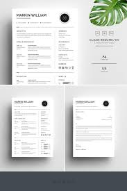 Markin William Minimal Resume Template #67728 | Resume ... Cv Template Professional Curriculum Vitae Minimalist Design Ms Word Cover Letter 1 2 And 3 Page Simple Resume Instant Sample Format Awesome Impressive Resume Cv Mplate With Nice Typography Simple Design Vector Free Minimalistic Clean Ps Ai On Behance Alice In Indd Ai 15 Templates Sleek Minimal 4p Ocane Creative