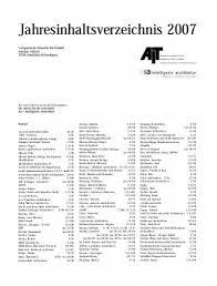 jahresinhaltsverzeichnis 2007