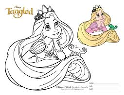 Coloring Pages Of Tangled