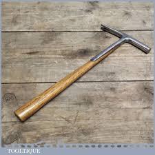 sweet little vintage strapped upholserers or saddlers tack hammer