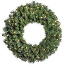 Artificial Pre Lit Douglas Fir Christmas Tree by Fluffing An Artificial Christmas Wreath