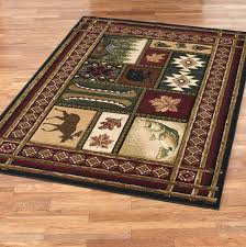 Lodge Area Rugs Cheap