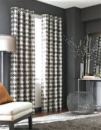 White And Gray Striped Curtains by Black And White Grommet Curtains U2013 Amsterdam Cigars Com