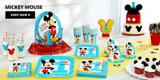 40th Birthday Decorations Canada by 1st Birthday Party Themes Party City Canada