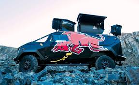 100 Redbull Truck 2015 South African RED BULL Concept Is Defender 130 APC 17