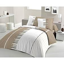 housse de couette amazone housse de couette pertinence taupe 240x260 2 to fr