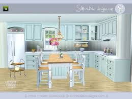 Coastal Kitchen By SIMcredible For Sims 3