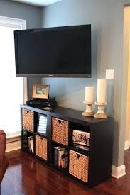 Decorating Around A Wall Mounted Tv Under Cabinet Best Ideas On