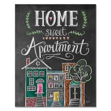 Lily Val Home Sweet Apartment Print