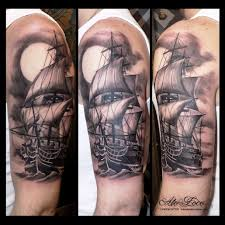 Alo Loco London Tattoo Artist Best Blackandgrey Full Sleeves Portrait