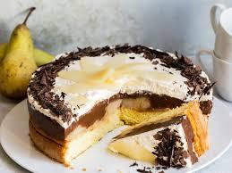 birne helene torte klassiker in tortenform