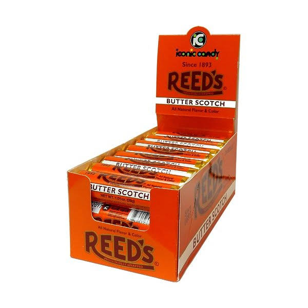 Reeds Rolls Butterscotch Hard Candy