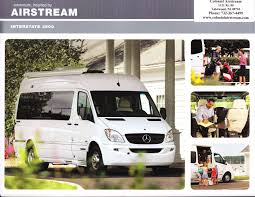 100 2011 Airstream Interstate 3500 Brochure Download RV Brochures
