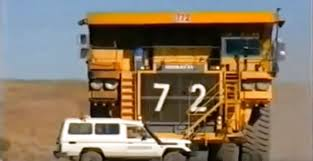 VIDEO] Here's What It Looks Like When A Gigantic Dump Truck Runs ...