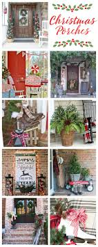 Simple Christmas Front Porch Decorating Ideas