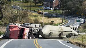 Overturned Cement Tanker Closes Md. 75 Near Union Bridge ... Gasoline Spilled In Tanker Crash Could Reach Columbia River Explosion Of A Truck On The Highway Montreal Canada Pakistan Oil Tanker Crash Kills At Least 153 Nbc News Accident Carson Road Njeffersonnewscom Tank Truck Wreck Editorial Image Image Fuel 41162655 1 Dead 10 Injured After Fiery 5 Freeway Near Griffith India Accident Stock Photos 5yearold Girl Killed 60 Idd All Lanes Reopen Temporarily Closes Westbound Victory Way Wednesday Carrying Chicken Feed Overturns Blocking Safety Design Equipment And Human Factor Saferack Hror Three Critical As Small Car Squashed