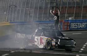 Kyle Busch Claims Record Seventh NASCAR Truck Series Victory At ... Playoff Watch Camping World Truck Series Posttexas Official Nascar Sets Stage Lengths For Every 2017 Cup Xfinity Gander Outdoors To Sponsor In 2019 Local Report Abreu Returns Truck Series St Helena Star Daytona Intertional Nextera Energy Rources 250 Live Stream 2016 Winners Site Of Fight At Gateway Youtube Heat 3 Ncwts Roster Set Take On High Banks Of Bristol Sports Justin Haley Takes Stlap Lead Win Engine Spec Program On Schedule For Trucks In May Chris
