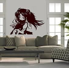 amazon com wall mural vinyl sticker decal anime manga
