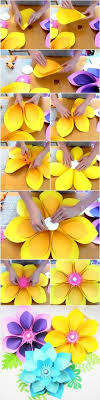Easy DIY Giant Paper Flower Tutorial Lately My Home Studio Has Been Overflowing With New Designs