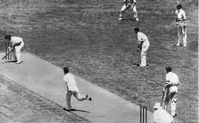 The Final Test To Put It 2 1 In That Series Bradman Scored A 334 254 And Another Double Century Out Of Englands Reach