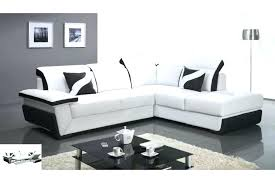 canap d angles convertible canape d angle convertible cuir noir lit canapac blanc couchage 140