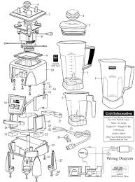 Parts Town Waring MX1000XT Blender With 64 Oz Polycarbonate Container Manual