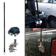 100 Truck Cb Antenna Radio Kit CB Mirror Mount Coax For Car Vehicle 500W