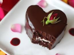 Heart Shaped Chocolate Raspberry Cakes Recipes Cooking Channel
