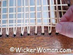 Chair Caning Instructions Youtube by Step By Step Chair Caning Instructions Here Reupholstering