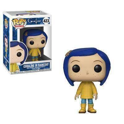 Funko Pop Coraline Vinyl Figure - Coraline in Raincoat