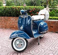 Classic Vintage Vespa Scooter I Need One