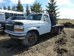 1996 FORD F350 DUALLY DECK TRUCK