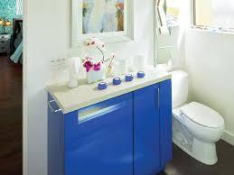 Royal Blue Bathroom Accessories by Small Bathroom Cabinets Hgtv