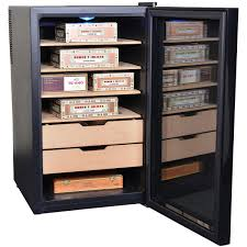 Cigar Humidor Cabinet Combo by Wineadors Convert A Wine Cooler Into A Humidor