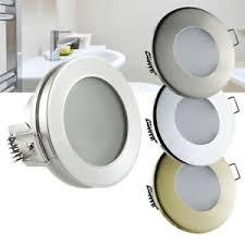 details zu led einbaustrahler feuchtraum nassraum downlight bad dusche ip44 ip65 12v 230v