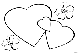 Coloriage De Coeur D Amour A Imprimer 22 Top Dessin De Coeur D Amour
