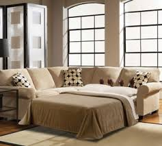 Broyhill Laramie Microfiber Sofa In Distressed Brown by Broyhill Sofas And Sectionals