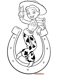 Toy Story Coloring Page Printable Pages Disney Book Free Online