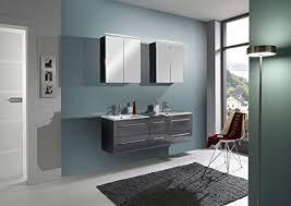 sam design badmöbel set zürich 150 cm in hochglanz grau 2tlg designer badezimmer mit softclose funktion 1 doppel waschplatz mit